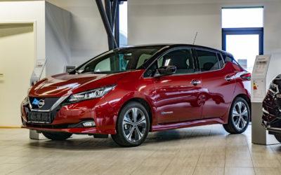 Få en Nissan LEAF elbil som firmabil fra under kr. 1.000 om måneden!