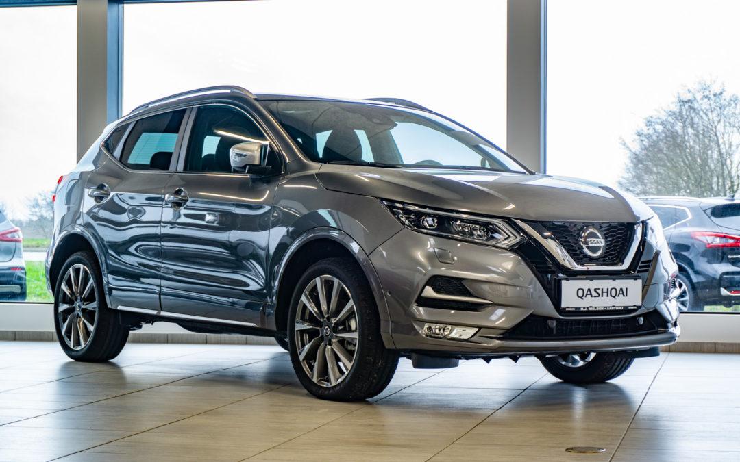 5 Års gratis service på udvalgte Nissan Qashqai