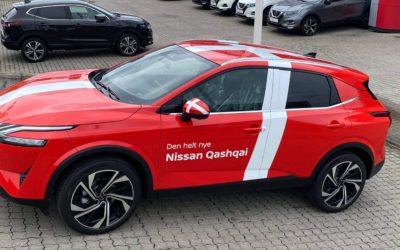 Danmarkspremiere på den helt nye Nissan Qashqai