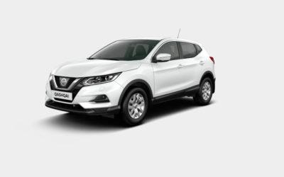 SPAR op til 40.000 kr. på fabriksnye alle nye Nissan Qashqai med benzinmotor