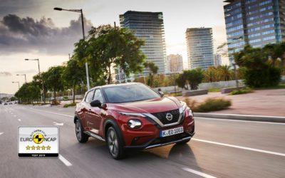 Ny Nissan JUKE opnår 5 stjerner i EuroNCAP!